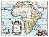 Theatrum Orbis Terrarum, Africa, 1570