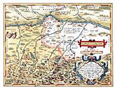 Theatrum Orbis Terrarum, Bavaria, 1570