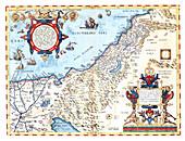 Theatrum Orbis Terrarum, The Holy Land, 1570