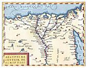 Theatrum Orbis Terrarum, Egypt, 1570