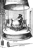 Opera of Bartolomeo Scappi, Cooking