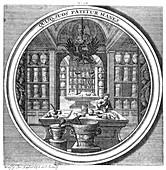 Meteorologia, Apothecary, 1709
