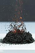 Ammonium dichromate volcano