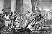 Death of Hypatia, 415 AD