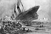 RMS Titanic Sinking, 1912