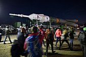 Soyuz MS-10 launch preparation, Kazakhstan