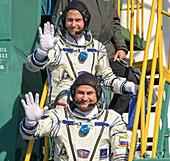 Expedition 57 crew