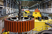 Exposed Hydroelectric Rotor