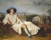 Johann von Goethe, German Author and Polymath