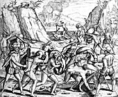 Spanish Persecution in the West Indies, Slavery, 16th C