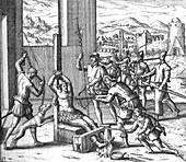 Spanish Persecution in the West Indies, Torture, 16th C