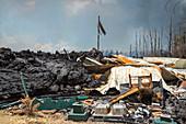 Home Destroyed, Kilauea 2018