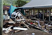 Tsunami Damage, American Samoa