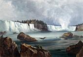 Niagara Falls, 1830s