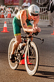 Triathlon Bicyclist