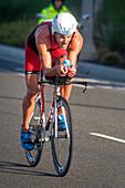 Triathlon Bicyclist