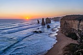 Sunset at Twelve Apostles, Victoria, Australia