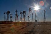 Windmills, Nebraska, USA