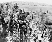 WWII, American Soldiers in Camouflage