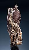 Copper with Calcite