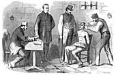 Prison Torture, The Tourniquet, 1860