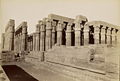 Temple at Luxor, Egypt, 1880s