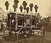 Abraham Lincoln, Funeral Wagon, 1865