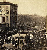 Abraham Lincoln's Funeral, 1865