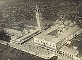 Aerial of Piazza San Marco, Venice, c. 1917
