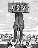 Titus Oates, English Cleric and Perjurer