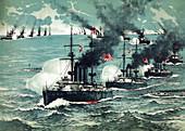 Russo-Japanese War, Battle of Port Arthur, 1904