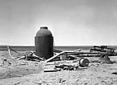 Trinity Test Site, Manhattan Project, Jumbo, 1945