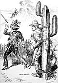 Pancho Villa Expedition, Villa and Pershing Satire, 1916