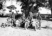 Pancho Villa Expedition, Motorcycle Squad, 1916