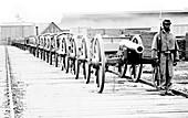 American Civil War, Soldier Guarding Weapons Depot, 1865