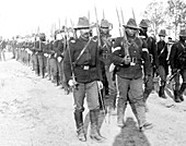 Spanish-American War, Buffalo Soldiers, 24th Infantry, 1898