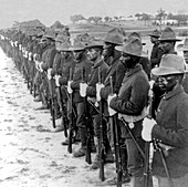 Spanish-American War, Buffalo Soldiers, 10th Cavalry, 1899