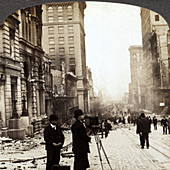 Photographing Aftermath of San Francisco Earthquake, 1906