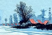 Japanese Winter Landscape, 1838