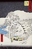 Fukijawa, 38th Station On Tokaido Road, 1855