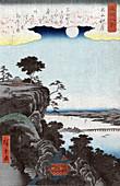 Autumn Moon at Buddhist Temple, 1857