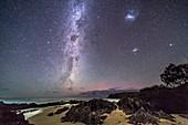 Southern Stars Rising at Cape Conran, Victoria, Australia