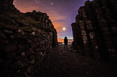 Viewing Venus from Giant's Causeway