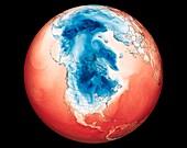 Polar vortex and North American cold wave, 2019