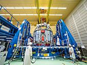 Orion European Service Module preparations, 2018