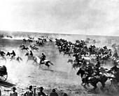 Cherokee Strip land run, 1893