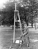 Goddard rocket experiment, 1910s