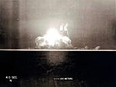 Trinity Test atom bomb 4 seconds after detonation, 1945