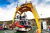 Underwater mining robot