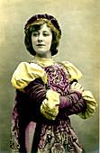 Liane de Pougy, French dancer and courtesan